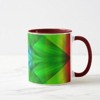 Grüne Diamant-Tasse Tasse
