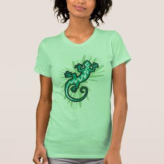 Grüne Eidechse Gecko Shirts