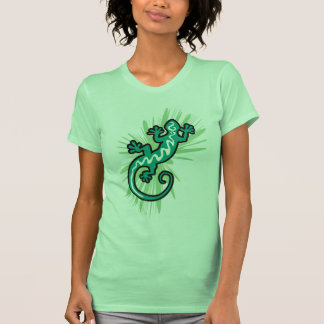 Grüne Eidechse Gecko T-Shirt