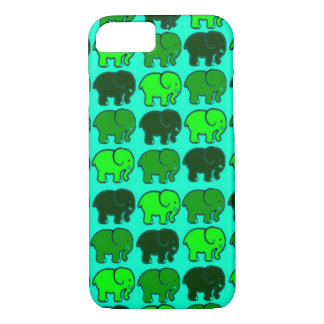 grüne Elefanten iPhone 7 Muschel iPhone 8/7 Hülle