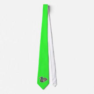 Grüne Ente Krawatten