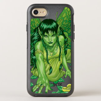 Grüne Erdfeenhafte Illustration durch Al Rio OtterBox Symmetry iPhone 8/7 Hülle
