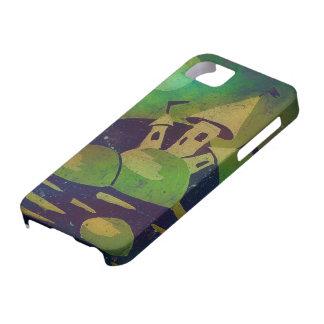 Grüne Fantasie romantischer iPhone 5/5S Fall iPhone 5 Schutzhüllen