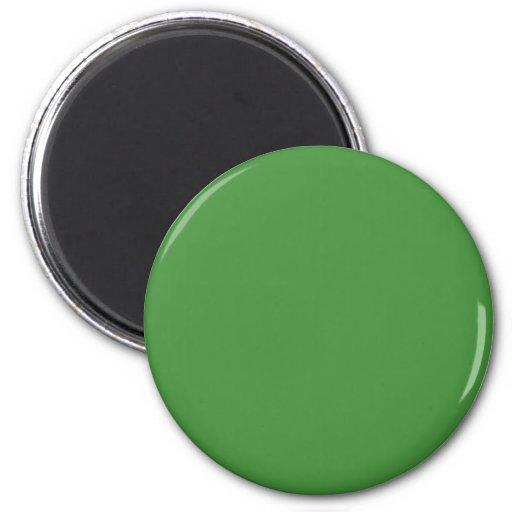 Grüne Farbe rund Magnets