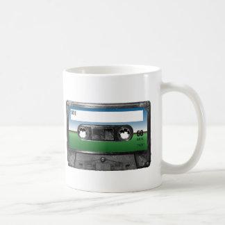 Grüne Feld-Horizont-Kassette Kaffeetasse