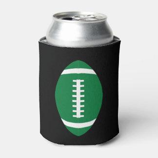 Grüne Fußballfan-Spiel-Tagesbier-Dose Koozie Dosenkühler