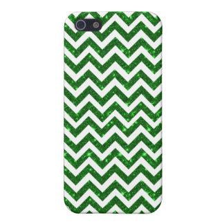 grüne Glitterheiliges patricks Zickzack iphone 5 iPhone 5 Schutzhülle