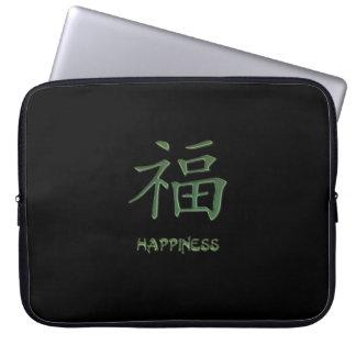 Grüne Glück-chinesisches Laptop Sleeve