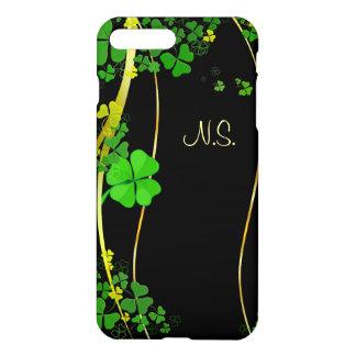 Grüne glückliche iPhone 8 plus/7 plus hülle