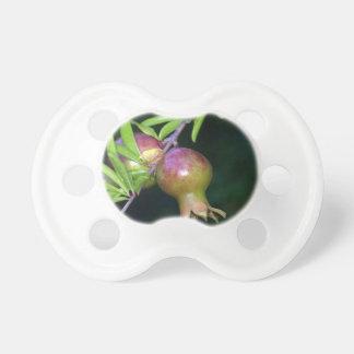 Grüne Granatapfelfrucht Schnuller