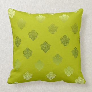grüne hellgrüne sikl Silber-Weißverzierungen Kissen
