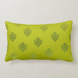 grüne hellgrüne sikl Silber-Weißverzierungen Zierkissen