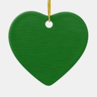 Grüne Holzmaserung Keramik Ornament