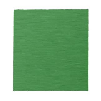 Grüne Holzmaserung Notizblock