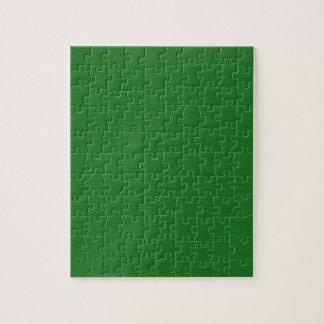 Grüne Holzmaserung Puzzle