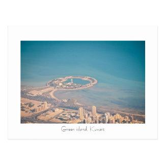Grüne Insel, Kuwait Postkarte