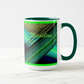 Grüne Kaffee-Tasse Madeline Tasse