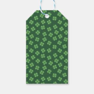 Grüne keltische Iren vier trieben Klee St Patrick Geschenkanhänger