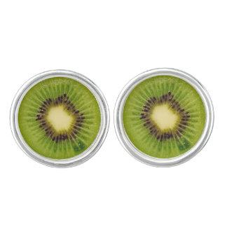 Grüne Kiwi köstliches 4Penelope Manschetten Knöpfe