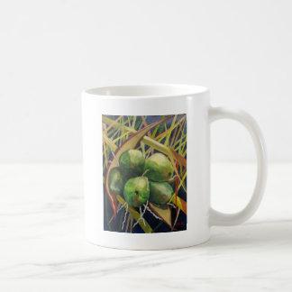 Grüne Kokosnüsse Kaffeetasse