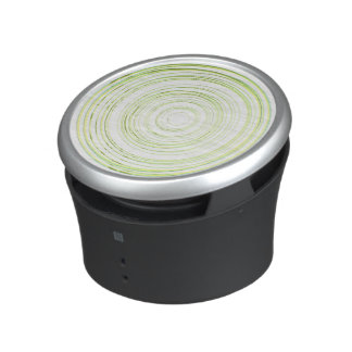 Grüne Kreise Bluetooth Lautsprecher