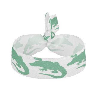Grüne Krokodil-Alligatortiere niedlich Haarband