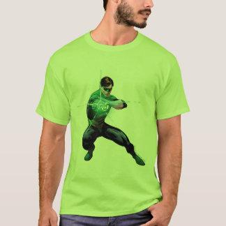 Grüne Laterne u. glühender Ring T-Shirt