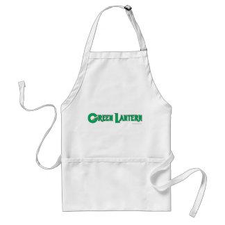 Grüne Laternen-Buchstaben 2 Schürze