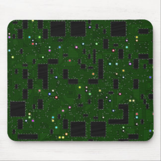 Grüne Leiterplatte Mousepad