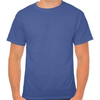 Grüne Licht-und der Schinken-Männer blauer T - Shi Hemd