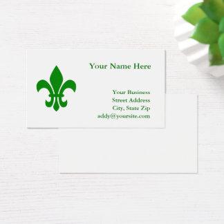 Grüne Lilie Visitenkarte