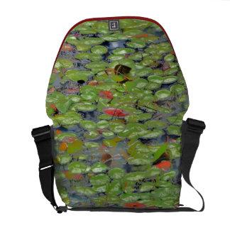 Grüne Lilly Auflage-Bote-Tasche Kurier Tasche