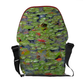 Grüne Lilly Auflage-Bote-Tasche Kurier Taschen