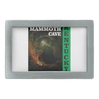 Grüne Mammuthöhle Kentucky Rechteckige Gürtelschnalle