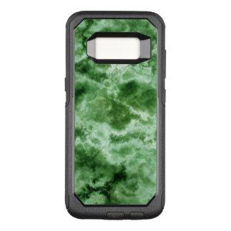 Grüne Marmorbeschaffenheit OtterBox Commuter Samsung Galaxy S8 Hülle