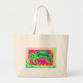 Grüne Meeresschildkröte-Sammlung Jumbo Stoffbeutel