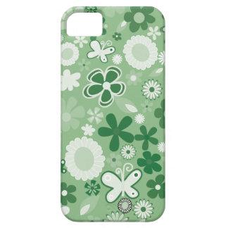 Grüne MischBlumen Schutzhülle Fürs iPhone 5