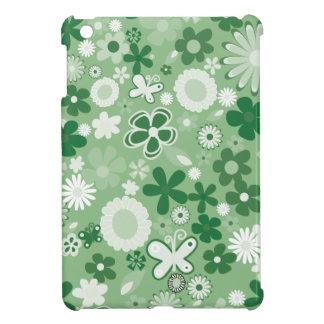 Grüne MischBlumen Hüllen Für iPad Mini