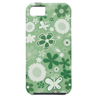 Grüne MischBlumen iPhone 5 Cover
