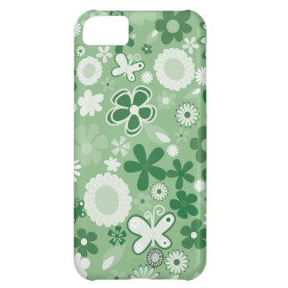 Grüne MischBlumen iPhone 5C Hülle