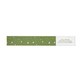Grüne moderne Glitzern und Punkt-Muster