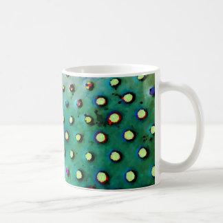 Grüne/multi Punkt-Tasse Kaffeetasse