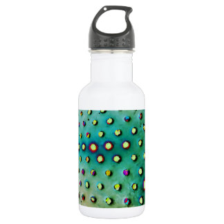 Grüne/multi Punkt-Wasser-Flasche Trinkflasche