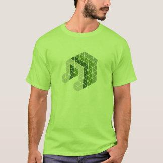 Grüne Musik-Anmerkung T-Shirt
