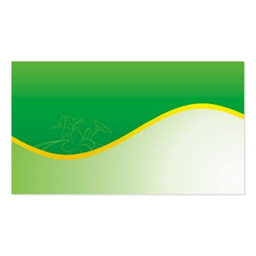 gr ne natur visitenkarten zazzle