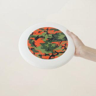 Grüne orange Waldtarnung. Ihre Camouflage Wham-O Frisbee