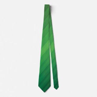 Grüne Party-Krawatte Individuelle Krawatte