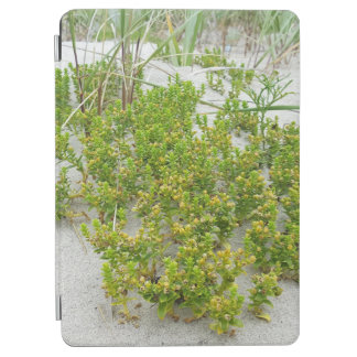 Grüne Pflanzen am Strand iPad Air Hülle