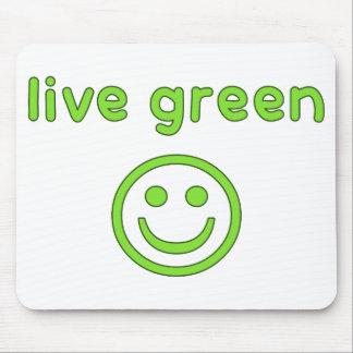 Grüne Prolebhaftumwelt-ökologisches Mauspads