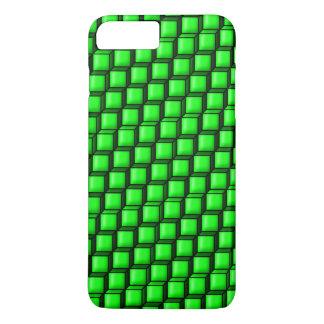 Grüne Quadrate kaum dort iPhone 7 Plusfall iPhone 8 Plus/7 Plus Hülle